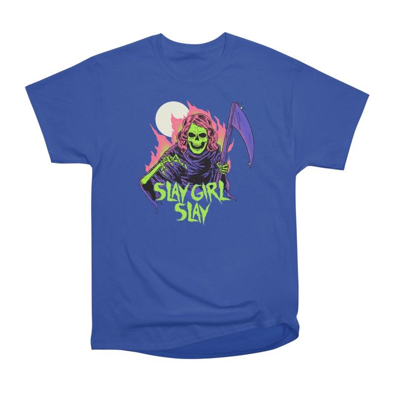 Girl Reaper Women's Heavyweight Unisex T-Shirt by hillarywhiterabbit's Artist Shop
