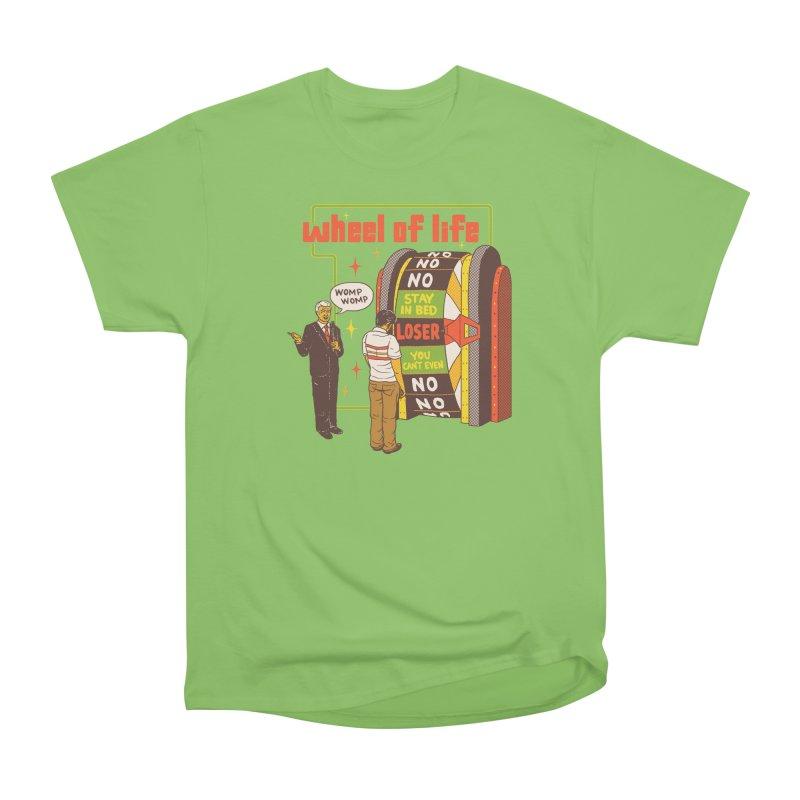 Wheel Of Life Women's Heavyweight Unisex T-Shirt by hillarywhiterabbit's Artist Shop