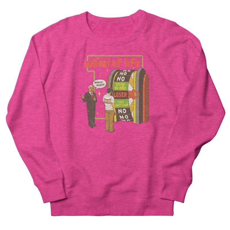 Wheel Of Life Men's French Terry Sweatshirt by hillarywhiterabbit's Artist Shop