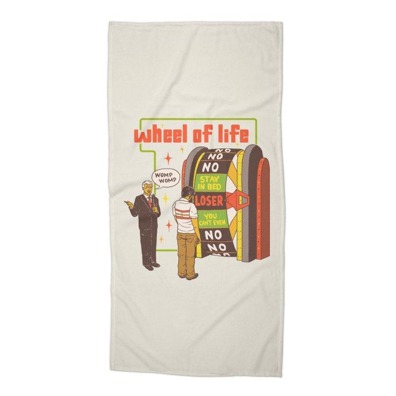 Wheel Of Life Accessories Beach Towel by hillarywhiterabbit's Artist Shop