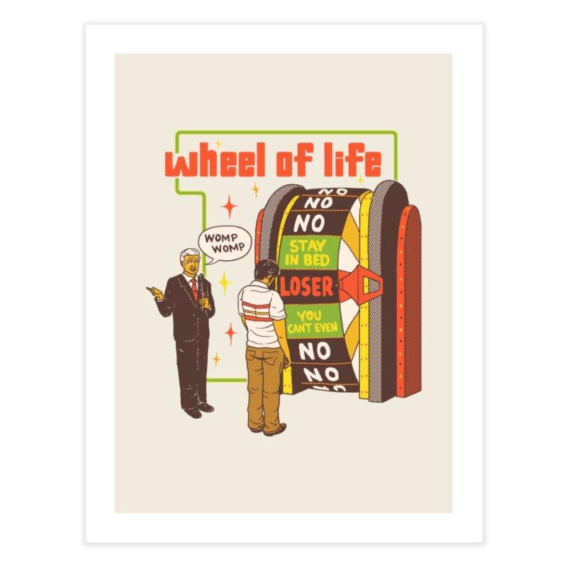Wheel Of Life Home Fine Art Print by hillarywhiterabbit's Artist Shop