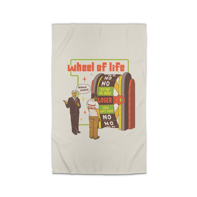 Wheel Of Life Home Rug by hillarywhiterabbit's Artist Shop