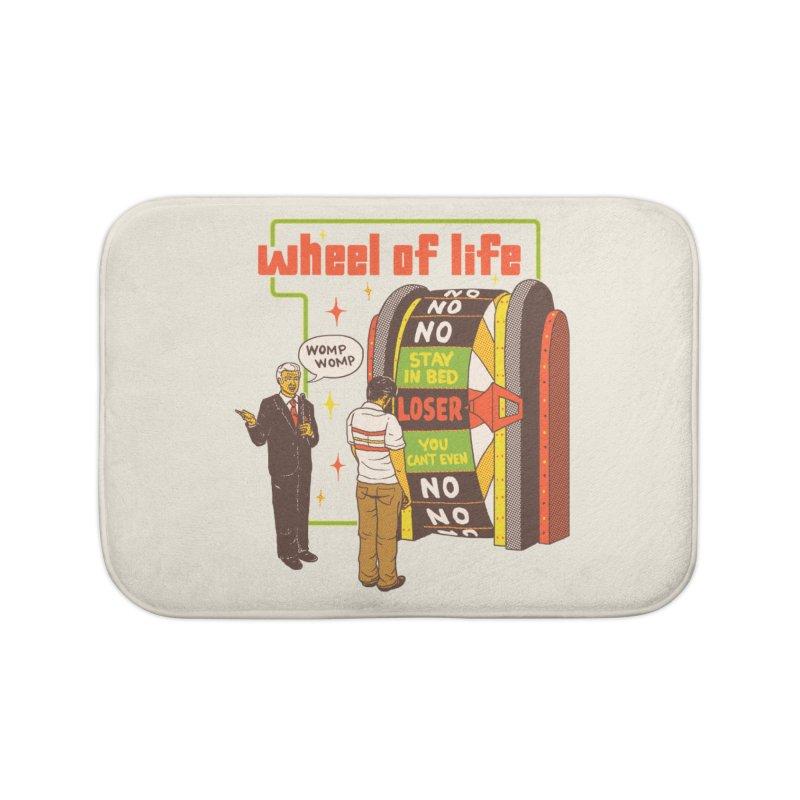 Wheel Of Life Home Bath Mat by hillarywhiterabbit's Artist Shop
