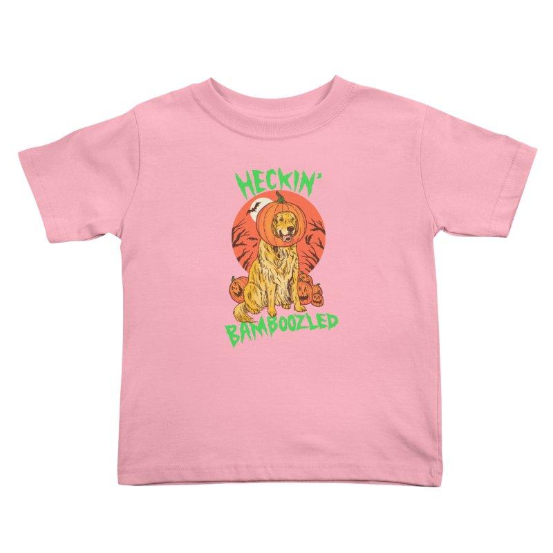 Doggo Lantern Kids Toddler T-Shirt by hillarywhiterabbit's Artist Shop