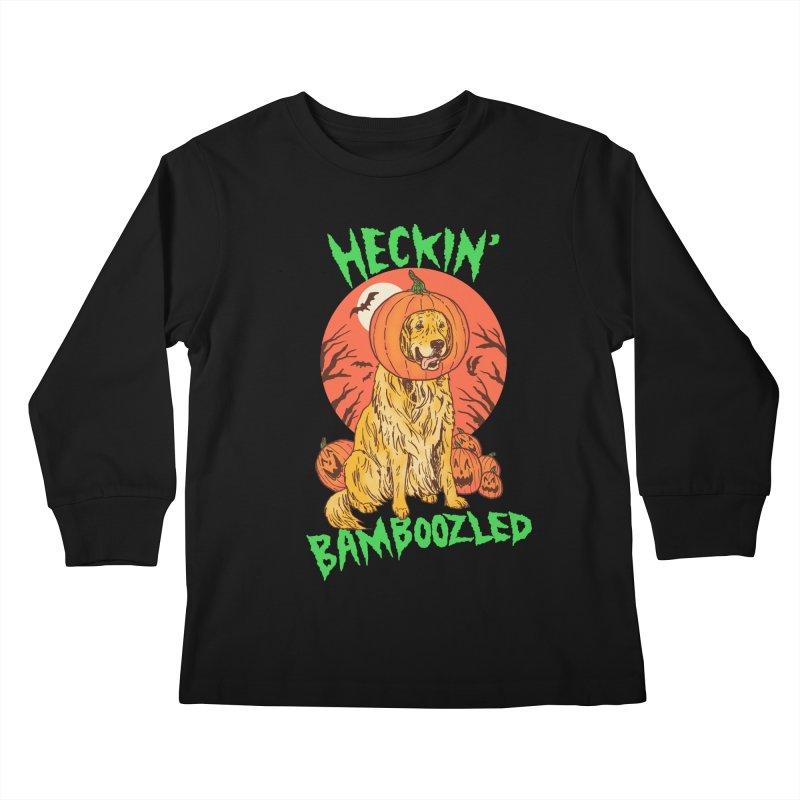 Doggo Lantern Kids Longsleeve T-Shirt by hillarywhiterabbit's Artist Shop