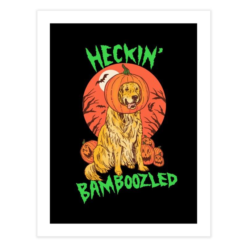 Doggo Lantern Home Fine Art Print by hillarywhiterabbit's Artist Shop