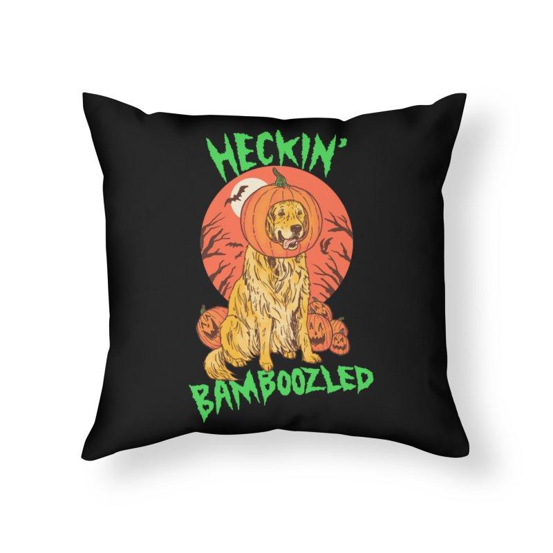 Doggo Lantern Home Throw Pillow by hillarywhiterabbit's Artist Shop