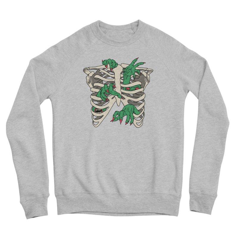 My Body Is A TempHELL Women's Sponge Fleece Sweatshirt by hillarywhiterabbit's Artist Shop