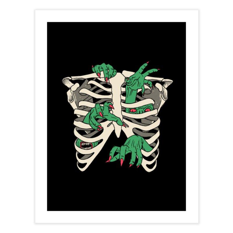 My Body Is A TempHELL Home Fine Art Print by hillarywhiterabbit's Artist Shop