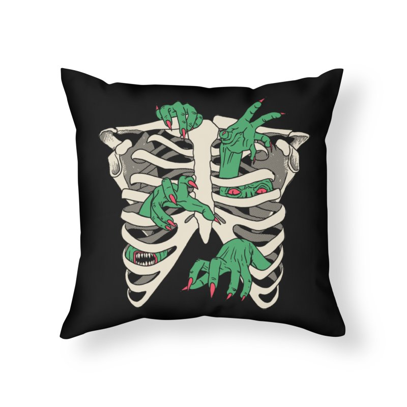 My Body Is A TempHELL Home Throw Pillow by hillarywhiterabbit's Artist Shop