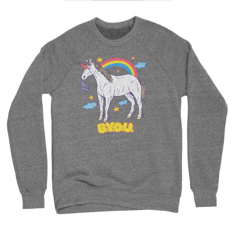 Bring Your Own Unicorn Women's Sponge Fleece Sweatshirt by hillarywhiterabbit's Artist Shop