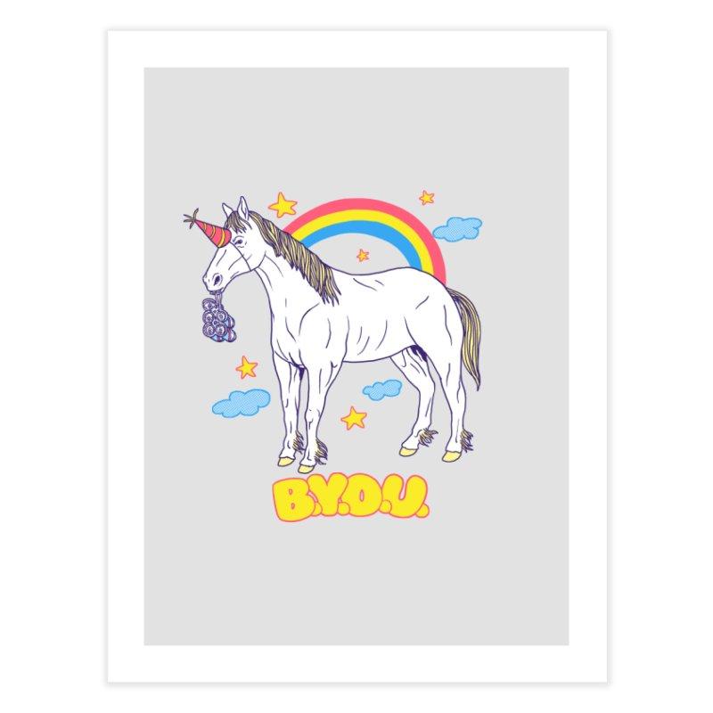 Bring Your Own Unicorn Home Fine Art Print by hillarywhiterabbit's Artist Shop