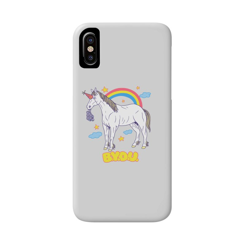 Bring Your Own Unicorn Accessories Phone Case by hillarywhiterabbit's Artist Shop