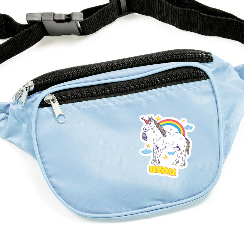 Bring Your Own Unicorn Accessories Sticker by hillarywhiterabbit's Artist Shop