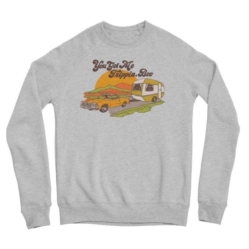 You Got me Trippin, Boo Women's Sponge Fleece Sweatshirt by hillarywhiterabbit's Artist Shop