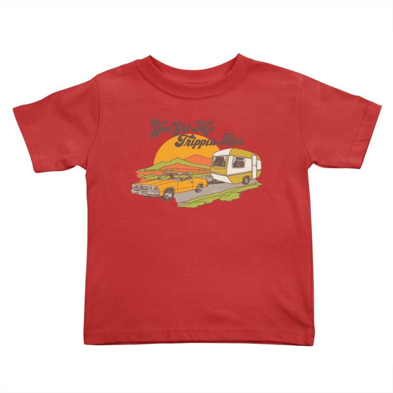 You Got me Trippin, Boo Kids Toddler T-Shirt by hillarywhiterabbit's Artist Shop
