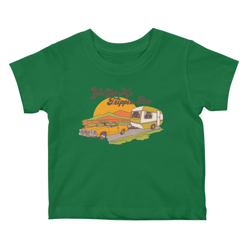 You Got me Trippin, Boo Kids Baby T-Shirt by Hillary White
