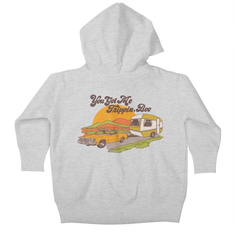 You Got me Trippin, Boo Kids Baby Zip-Up Hoody by hillarywhiterabbit's Artist Shop