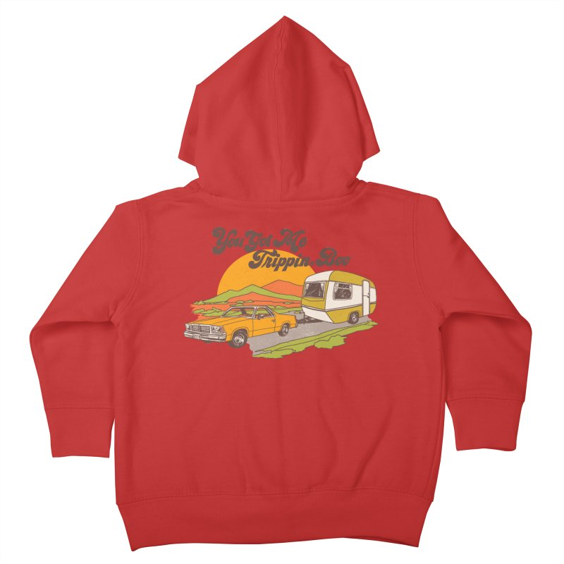 You Got me Trippin, Boo Kids Toddler Zip-Up Hoody by Hillary White