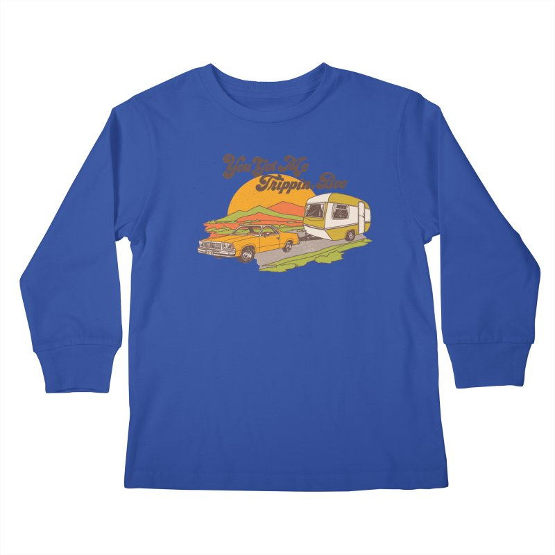 You Got me Trippin, Boo Kids Longsleeve T-Shirt by hillarywhiterabbit's Artist Shop