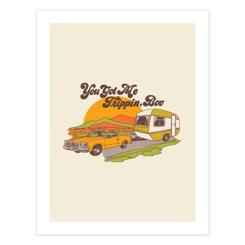 You Got me Trippin, Boo Home Fine Art Print by hillarywhiterabbit's Artist Shop