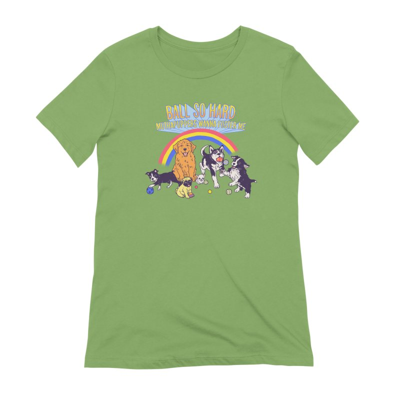 Puppies At Play Women's Extra Soft T-Shirt by hillarywhiterabbit's Artist Shop
