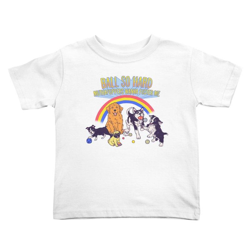 Puppies At Play Kids Toddler T-Shirt by hillarywhiterabbit's Artist Shop