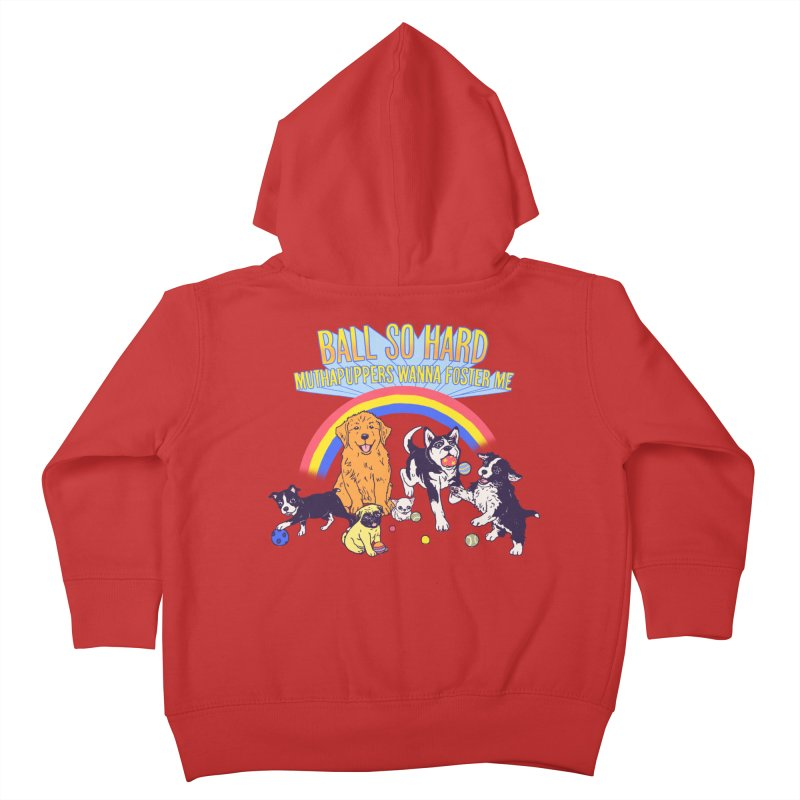 Puppies At Play Kids Toddler Zip-Up Hoody by Hillary White