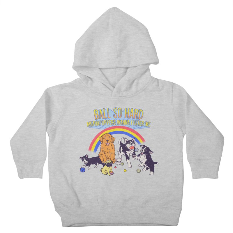 Puppies At Play Kids Toddler Pullover Hoody by hillarywhiterabbit's Artist Shop