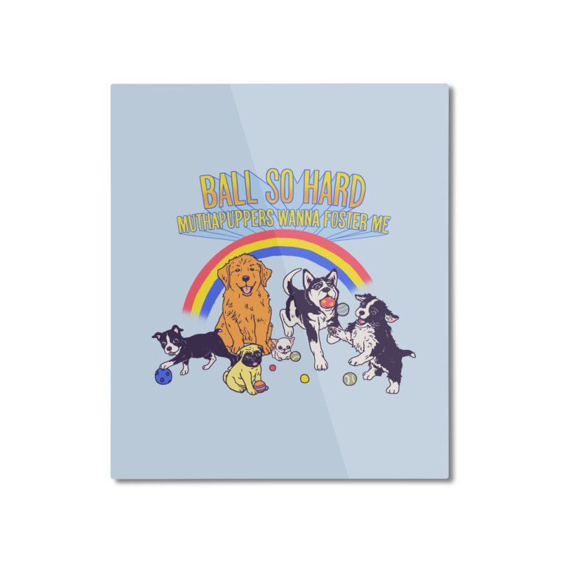 Puppies At Play Home Mounted Aluminum Print by hillarywhiterabbit's Artist Shop