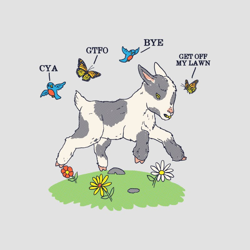 GoatTFO by hillarywhiterabbit's Artist Shop