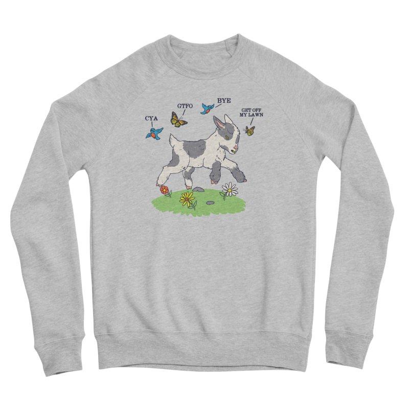 GoatTFO Women's Sponge Fleece Sweatshirt by hillarywhiterabbit's Artist Shop