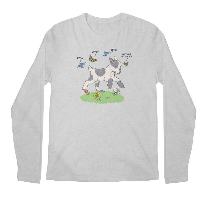 GoatTFO Men's Regular Longsleeve T-Shirt by hillarywhiterabbit's Artist Shop
