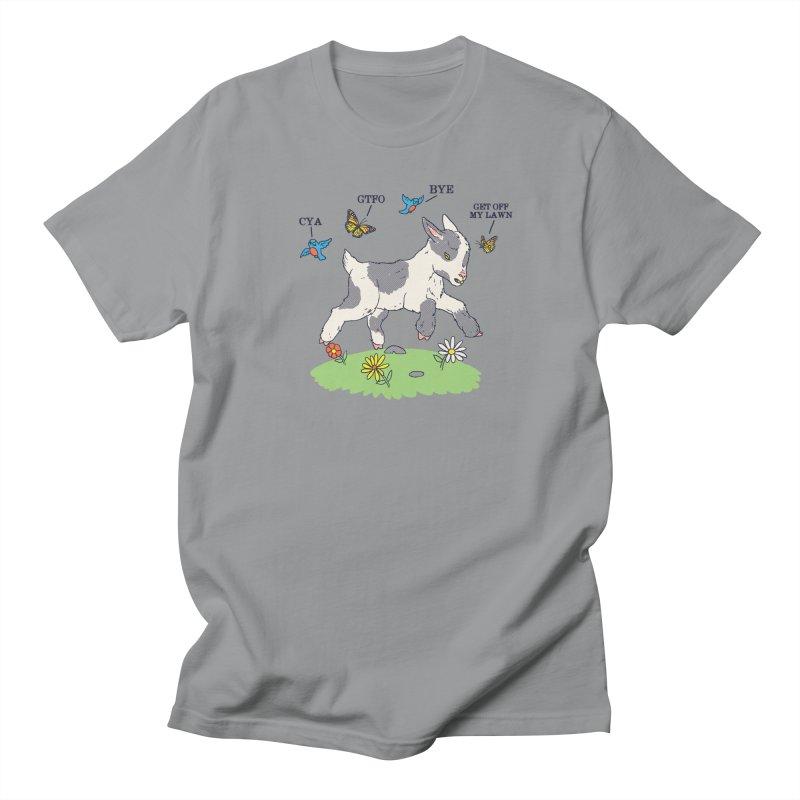 GoatTFO Women's Regular Unisex T-Shirt by hillarywhiterabbit's Artist Shop