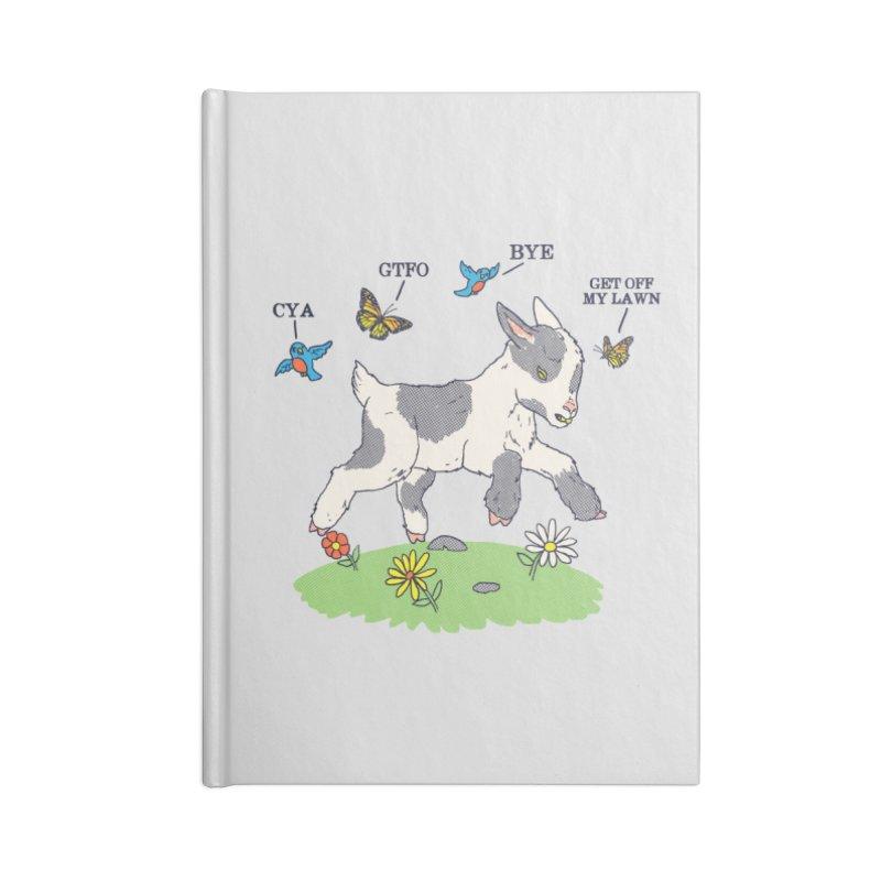 GoatTFO Accessories Notebook by hillarywhiterabbit's Artist Shop