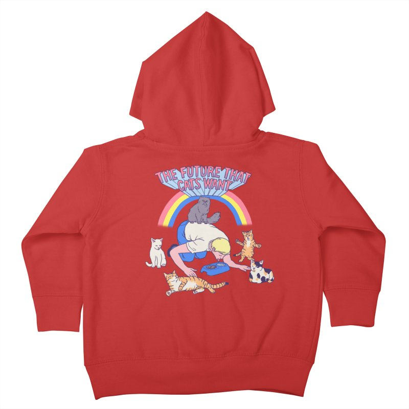 The Future That Cats Want Kids Toddler Zip-Up Hoody by Hillary White