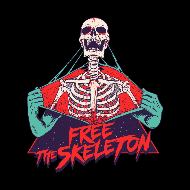 Free the Skeleton by hillarywhiterabbit's Artist Shop