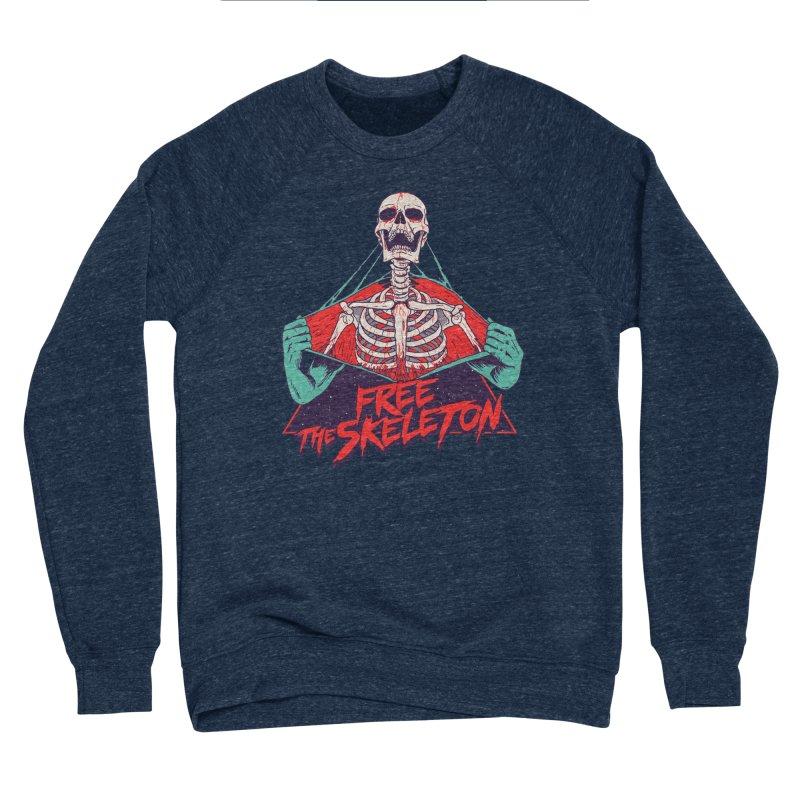 Free the Skeleton Women's Sponge Fleece Sweatshirt by hillarywhiterabbit's Artist Shop