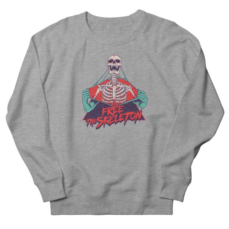 Free the Skeleton Men's French Terry Sweatshirt by hillarywhiterabbit's Artist Shop