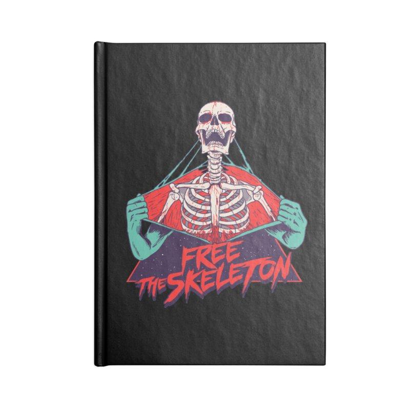 Free the Skeleton Accessories Notebook by hillarywhiterabbit's Artist Shop