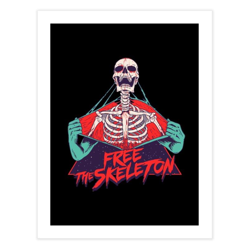 Free the Skeleton Home Fine Art Print by hillarywhiterabbit's Artist Shop