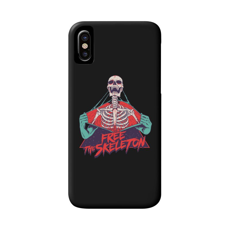 Free the Skeleton Accessories Phone Case by hillarywhiterabbit's Artist Shop