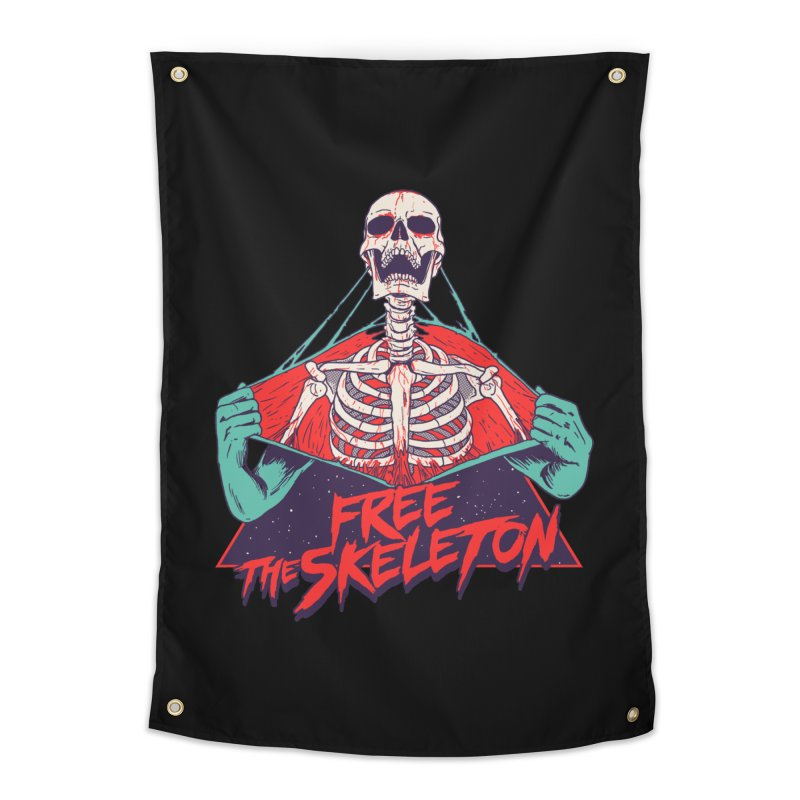 Free the Skeleton Home Tapestry by hillarywhiterabbit's Artist Shop