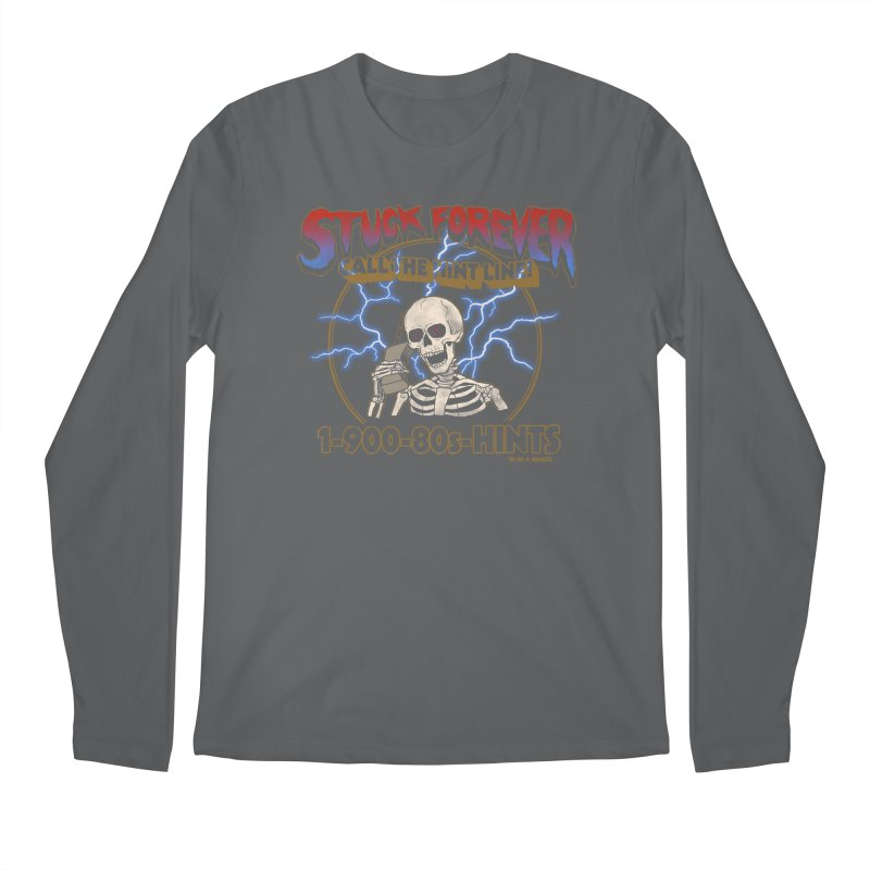 Hint Line Men's Regular Longsleeve T-Shirt by hillarywhiterabbit's Artist Shop