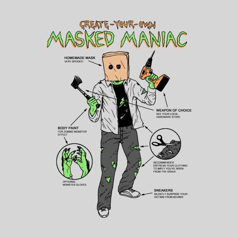 Create-Your-Own Masked Maniac by hillarywhiterabbit's Artist Shop