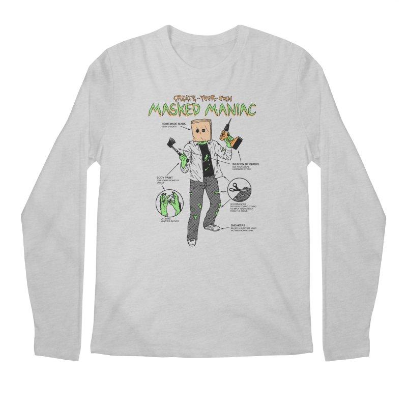Create-Your-Own Masked Maniac Men's Regular Longsleeve T-Shirt by hillarywhiterabbit's Artist Shop