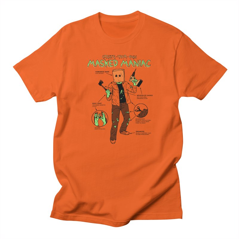 Create-Your-Own Masked Maniac Women's Regular Unisex T-Shirt by hillarywhiterabbit's Artist Shop
