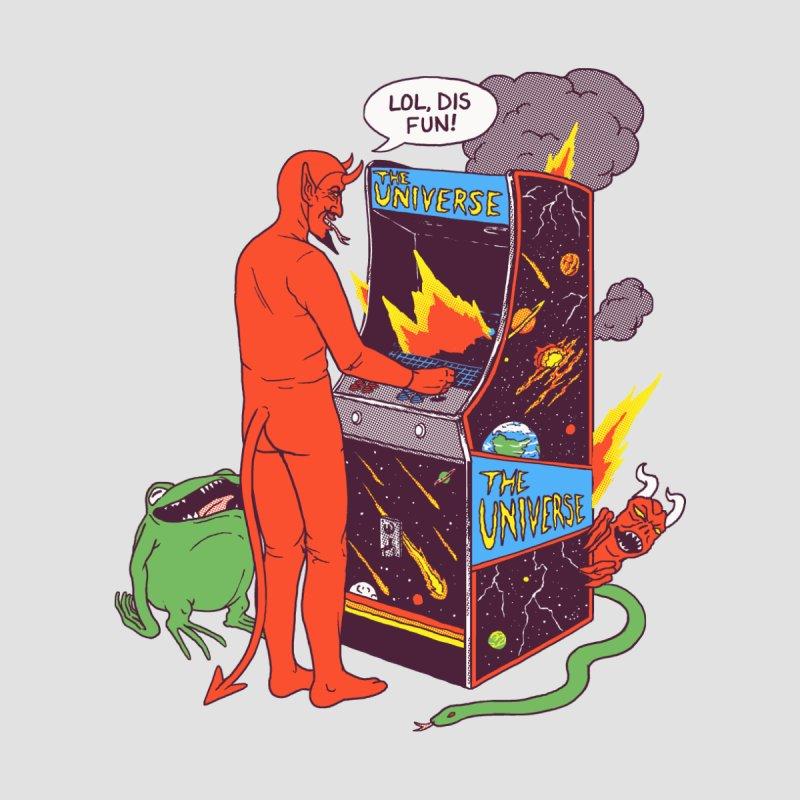 Satan Controlling the Universe by hillarywhiterabbit's Artist Shop