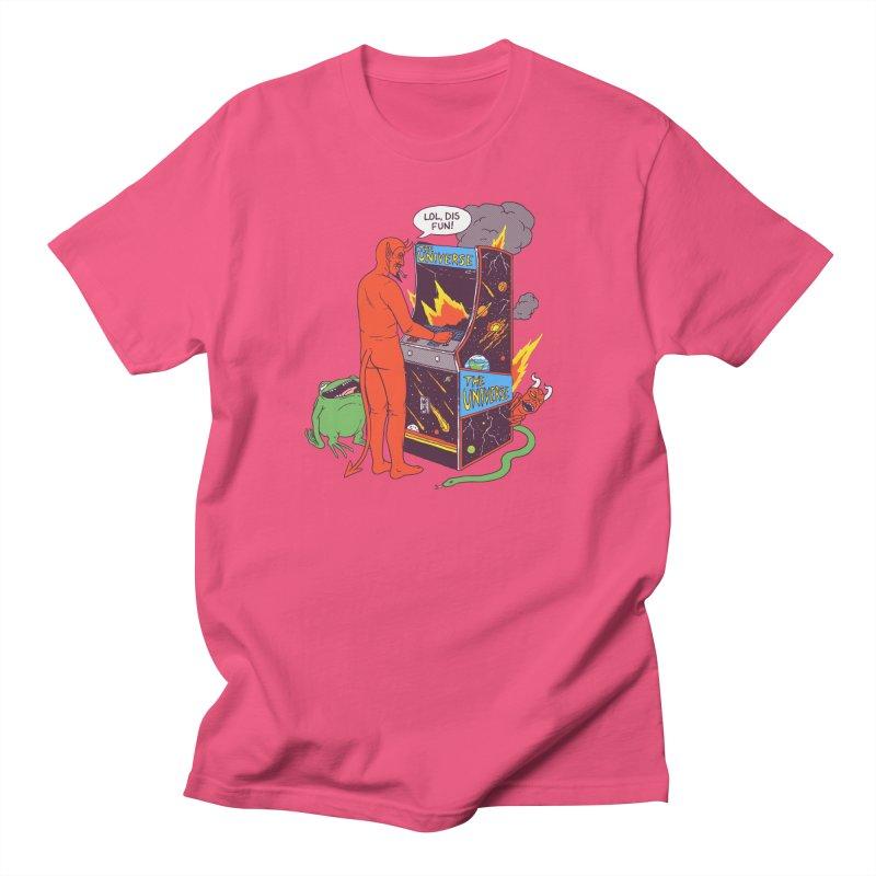 Satan Controlling the Universe Women's Regular Unisex T-Shirt by hillarywhiterabbit's Artist Shop