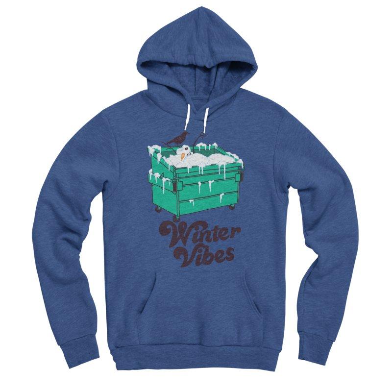 Winter Vibes Women's Sponge Fleece Pullover Hoody by hillarywhiterabbit's Artist Shop
